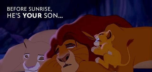 Lion King Before Sunrise
