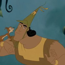 Kronk is so sweet. A little out-there, but... talented!