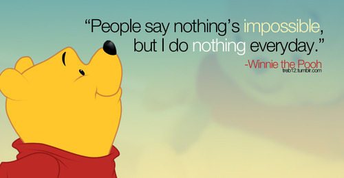 pooh nothing impossible