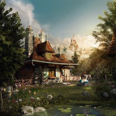 Fantasyland Belles cottage
