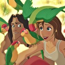Tarzan and Jane have so much in common!