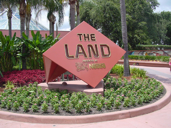 the land epcot