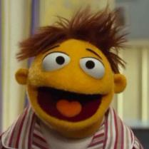 The newest Muppet, Walter, is also a world-class whistler!