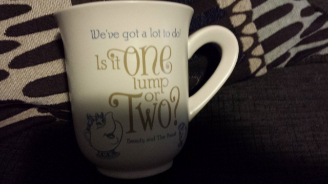 The mug that started it all! A Christmas gift from my sister! She found this at the Hallmark Store.