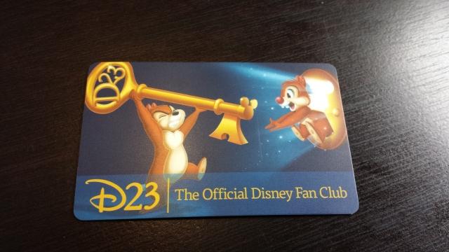 Diva's D23 card!