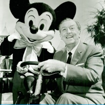 Disney and his Mouse.