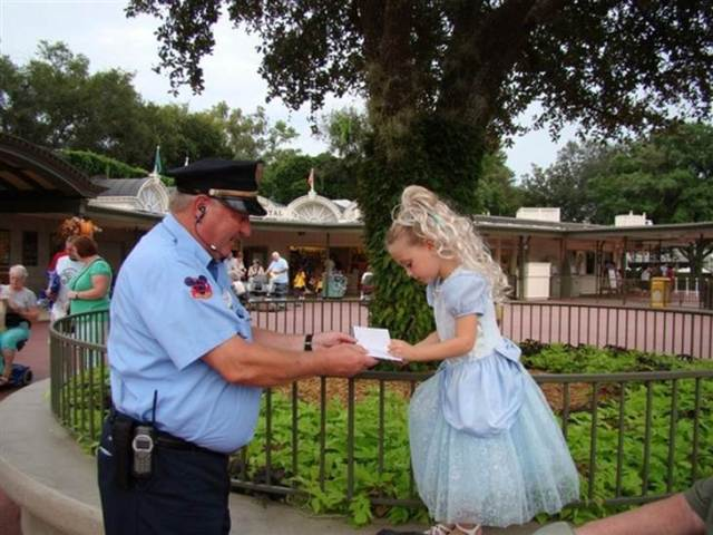 Although some guards totally play up their role, like this infamous guy at WDW!