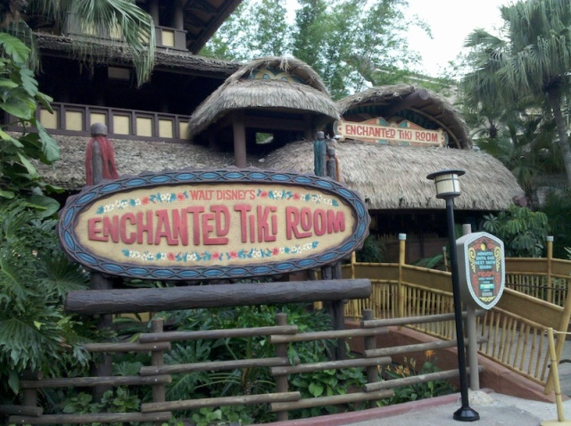 The Enchanted Tiki Room.