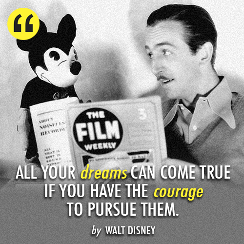 Walt-Disney quote