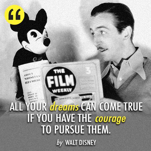 Walt-Disney quote
