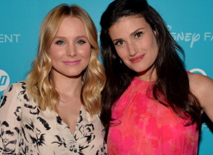 Kristen Bell and Idina Menzel.