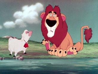Lambert, the Sheepish Lion!