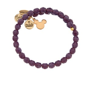 Different look with the purple beads,