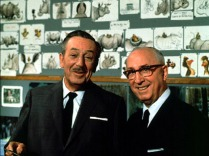 Walt and Roy Disney.