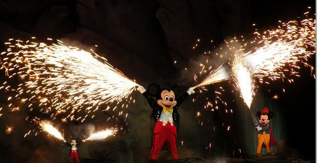Mickey at Fantasmic