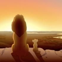 Everything the light touches....