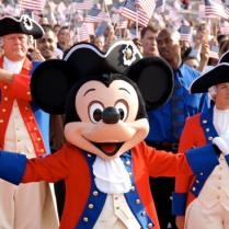Patriotic Mickey!