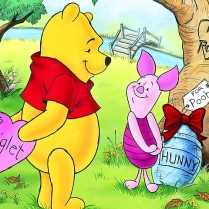 Pooh Bear and Piglet