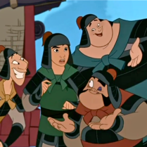 Come on, Mulan, chime in!