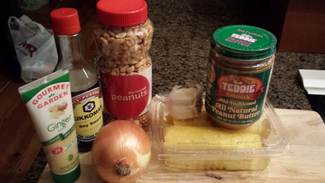 Stir Fried Noodle Ingredients
