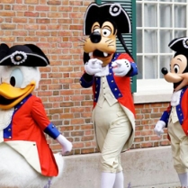 donald mickey goofy memorial day