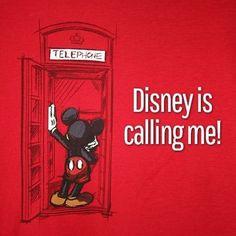 disney calling me
